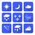 vettore · Meteo · previsione · icone · set · natura - foto d'archivio © trikona