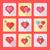 saint · valentin · concepts · quatre · affiche · design - photo stock © trikona