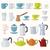 чашку · кофе · чай · кружка · иконки · цвета · строительство - Сток-фото © trikona