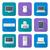 ordenador · teclado · comunicación · apoyo · sombra · botón - foto stock © trikona