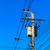 elétrico · pólo · torres · backlight · nublado · céu - foto stock © tungphoto