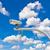 Открытый · кабельное · телевидение · камеры · Blue · Sky · безопасности · небе - Сток-фото © tungphoto