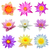 collection of water lily isolated stock photo © tungphoto