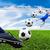 pie · balón · de · fútbol · fútbol · deporte · fútbol - foto stock © tungphoto
