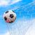 piłka · cel · netto · piłka · nożna · sportu · piłka · nożna - zdjęcia stock © tungphoto