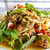 picante · salada · arroz · comida · tailandesa · comida · legumes - foto stock © tungphoto
