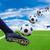 láb · rúg · futballabda · futball · sport · futball - stock fotó © tungphoto