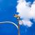 bezpieczeństwa · inwigilacja · kamery · Błękitne · niebo · działalności · technologii - zdjęcia stock © tungphoto