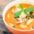 frango · vermelho · caril · arroz · delicioso · thai - foto stock © tungphoto