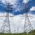 high voltage power pylon against blue sky stock photo © tungphoto
