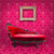 red luxury sofa and frame in pink room stock photo © tungphoto