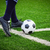 láb · rúg · futballabda · sarok · futball · sport - stock fotó © tungphoto