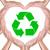 újrahasznosít · felirat · kéz · szív · fa · terv - stock fotó © tungphoto