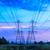 elektrik · mavi · gökyüzü · Metal · ağ · mavi - stok fotoğraf © tungphoto
