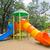 park · gyerekek · játszótér · nyilvános · fű · növények - stock fotó © tungphoto