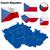 Чешская · республика · вектора · набор · подробный · стране · форма - Сток-фото © tuulijumala