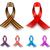 color awareness ribbon set isolated on white background stock photo © tuulijumala