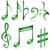 note · personale · vettore · note · musicali · design · chiave - foto d'archivio © tuulijumala