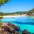oceaan · pittoreske · strand · blauwe · hemel · hemel · wolken - stockfoto © tuulijumala