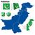 térkép · Pakisztán · politikai · néhány · absztrakt · világ - stock fotó © tuulijumala