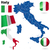 Италия · вектора · набор · подробный · стране · форма - Сток-фото © tuulijumala