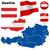 conjunto · mundo · bandeiras · ícones · ilustração - foto stock © tuulijumala