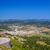 küçük · köy · alanları · mavi · gökyüzü · doğa - stok fotoğraf © tuulijumala