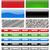 vector set of web site menu bars isolated on white background stock photo © tuulijumala