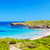 platja del tortuga beach in sunny day at menorca stock photo © tuulijumala