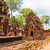 banteay srei temple ancient ruins in sunny day siem reap cambo stock photo © tuulijumala