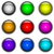vector collection of colorful glossy buttons for web design stock photo © tuulijumala