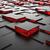 красный · 3D · футуристический · куб · абстракция · белый - Сток-фото © tuulijumala
