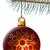 Natale · palla · impiccagione · blu · abete · rosso · ramo - foto d'archivio © tuulijumala