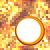 soyut · altın · mozaik · bo · doku · parti - stok fotoğraf © tuulijumala