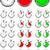 ingesteld · vector · stopwatch · verschillend · tijd · gemakkelijk - stockfoto © tuulijumala