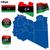 parlak · bayraklar · örnek · ayarlamak - stok fotoğraf © tuulijumala