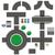 círculo · carretera · carretera · vector · icono · ilustración - foto stock © tuulijumala