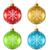 cor · natal · decoração · bola · vetor · conjunto - foto stock © tuulijumala