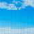 abstract · blauwe · hemel · wolken · tegel · schoonheid · golf - stockfoto © tuulijumala