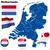 Нидерланды · вектора · набор · подробный · стране · форма - Сток-фото © tuulijumala