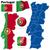 フラグ · ポルトガル · 腕 · 赤 · 緑 · 世界 - ストックフォト © tuulijumala