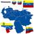 venezuela vector set stock photo © tuulijumala