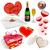 valentines day vector set different holiday symbols isolated stock photo © tuulijumala
