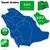 Szaúd-Arábia · vektor · szett · részletes · vidék · forma - stock fotó © tuulijumala