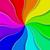 rainbow colored abstract fan vector background stock photo © tuulijumala