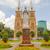 estatua · ciudad · sala · Vietnam · edificio · calle - foto stock © tuulijumala