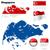 singapore vector set stock photo © tuulijumala