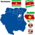Суринам · флаг · кнопки · Мир · зеленый · Африка - Сток-фото © tuulijumala