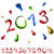 2013 · 明けましておめでとうございます · セット · カード · 要素 - ストックフォト © tuulijumala