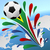 futbol · dünya · fincan · Güney · Afrika · soyut · arka · plan - stok fotoğraf © tuulijumala